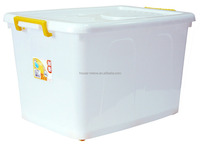 Extra large economic box 110 liter with tight handle