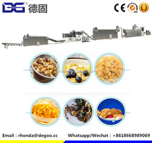 Automatic Corn flakes production line Extruder Processing Line from Jinan DG with CE