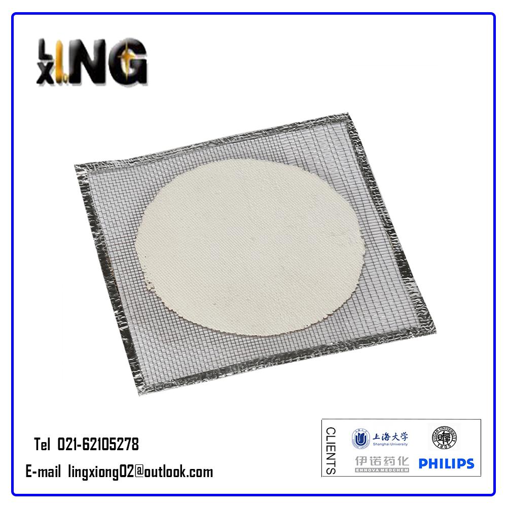 Lab Wire Gauze Square Bunsen Burner Ceramic Tripod Net Mesh Support ...