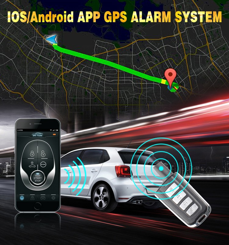 Car Tracking Device Gps Alarm Tracker Vehicle GPS Tracker with Sim Card