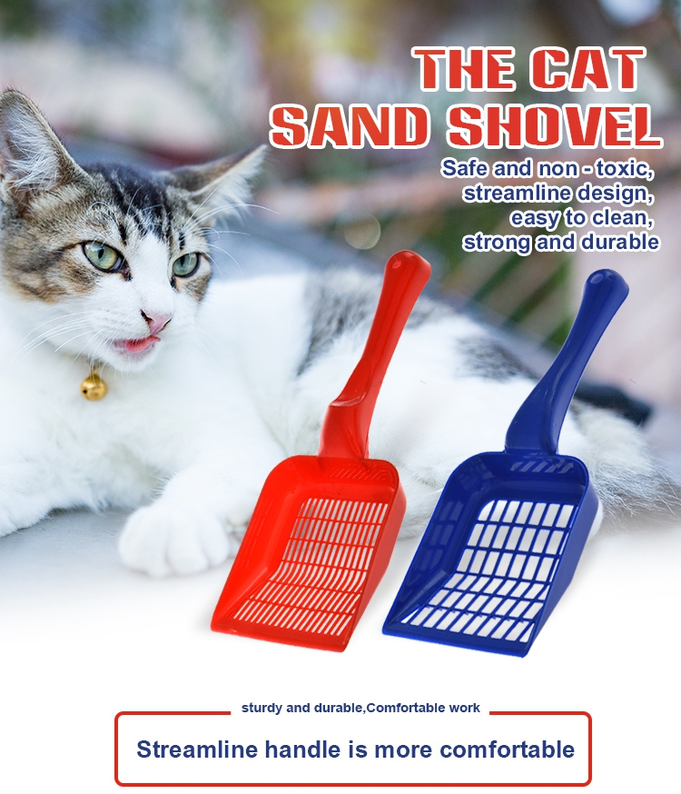 Tianyuan pet high quality pp waste pet shovel litter scoop