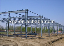 prefab building steel roofing structure