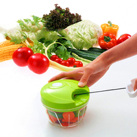 Kitchen Tools Multi-Function Kitchen Manual Food Chopper, Hand Held Pull Vegetable Chopper
