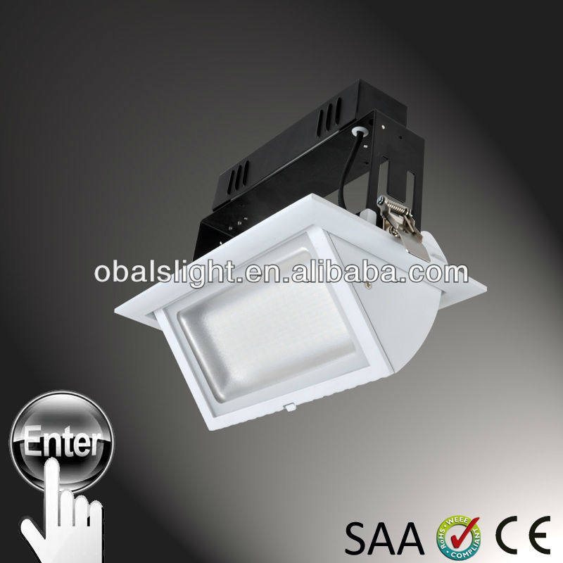 28w dimmable ledfriend driver, led adjustable downlights with CE SAA RoHS approved