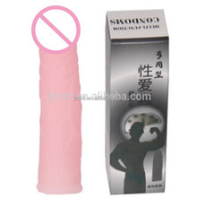 sex toy penis cover condom sleeves for men