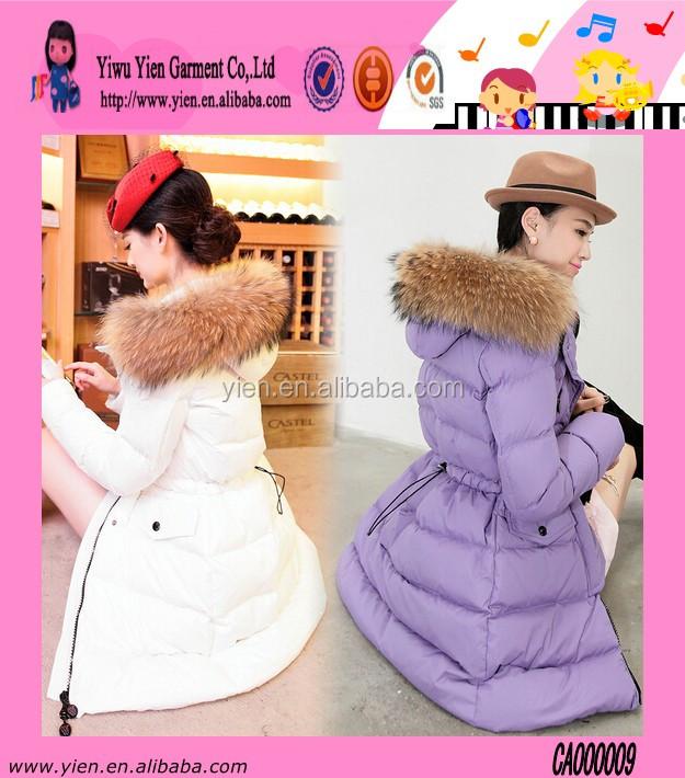Nieuwste Mode Jassen : Nieuwste elke grootte zwarte en witte jas vrouwen mode