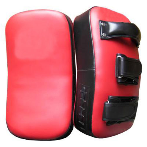 Red Black Color Kick Shields