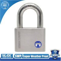 MOK@11/50 Padlock with master key system, marking serial numbers, can be customized, for general use, extreme corrosion resistan