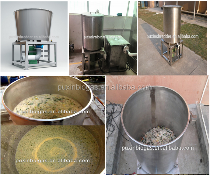 High efficient large scale food waste disposer