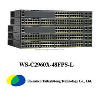 Cisco 48 ports POE WS-C2960X-48FPS-L switch