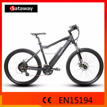 Sataway high quality 27.5inch bycicle electric mountain bike with hidden battery