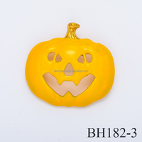 Fancylove Jewelry Europe and America fashion jewelry holloween pumpkin brooch cute smile face for dress decoration