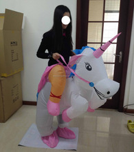 inflatable unicorn costume easy wear lovely adult unicorn inflatable costume for sale