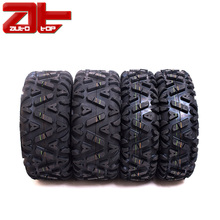 Set of 4 Pattern A033 UTV Tires, 4x4 ATV Tires 25x8-12 Front & 25x10-12 Rear All Terrain Tires Manufacturer