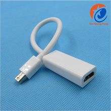 Best buy 1080P Mini Displayport 1.2 to 1.4 hdmi video converter cable Adapter for Mac book