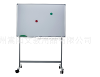 Movable Stand Up white Board With Wheels For School Classroom