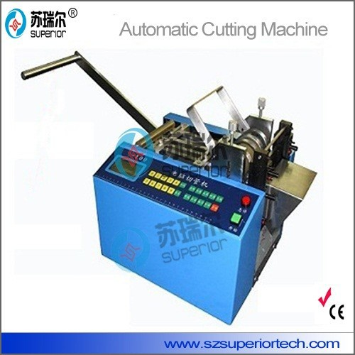 Hot and Cold Knife Automatic Cord Cutting Machine