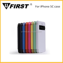 New window filp case for iphone 5C, mobile case for iphone 5C