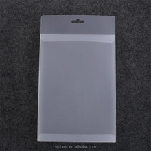 Custom Printing Frosted Rectangle Transparent Plastic PVC Stationery Packaging Box