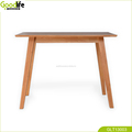 solid wood coffee table for office or bar corner
