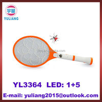 rechargeable with LED light mosquito swatter bat
