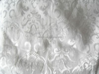 Fashional woven polyester/ cotton garment fabrics,ready jacquard fabric, for wedding decoration