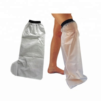 2017 New bath and swimming cover bandage reusable waterproof cast protector half leg