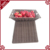 Hand woven pe rattan fruit rack display stand for supermarket and groceries store
