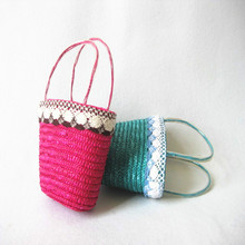 child bag,child beach bag,child flower crochet bag