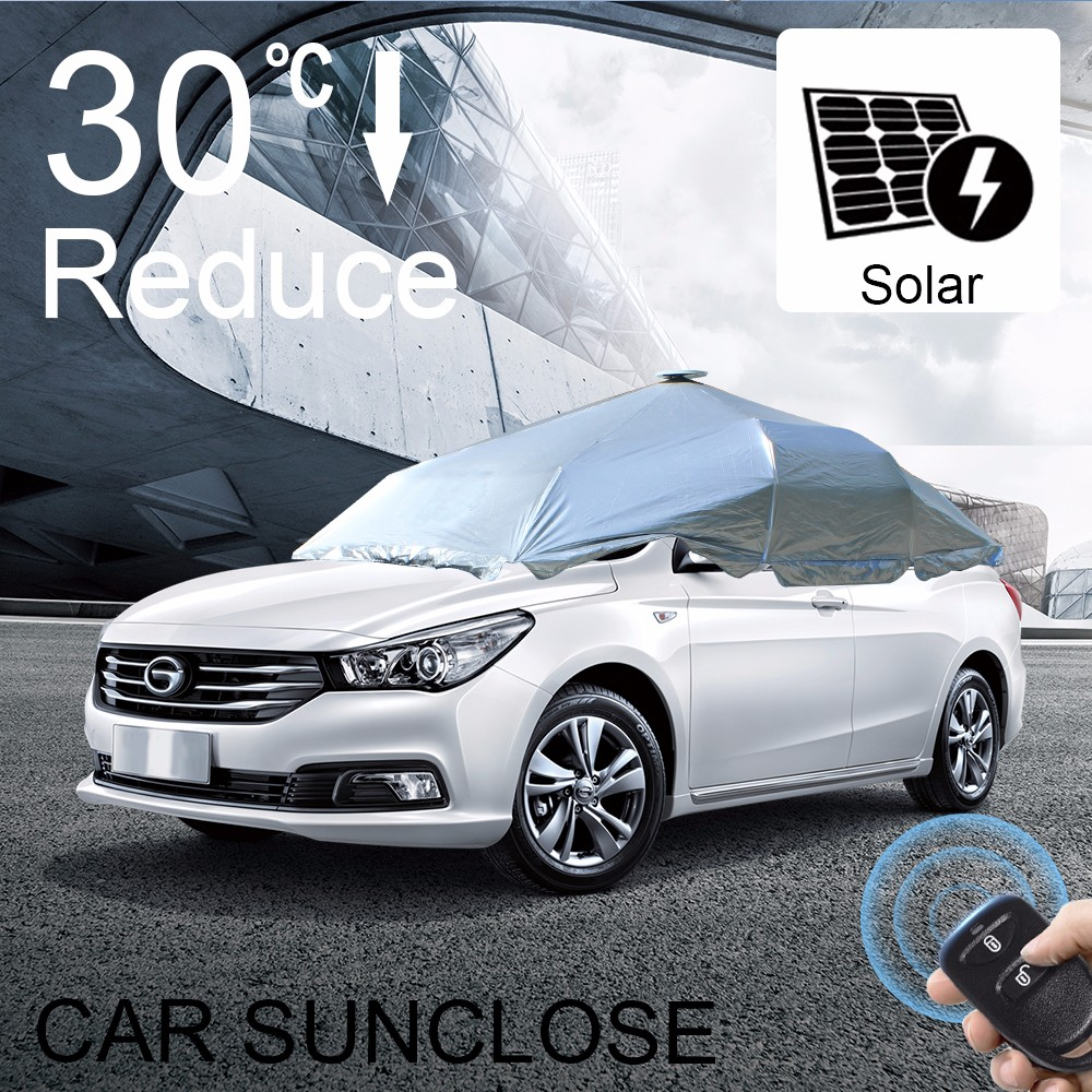 SUNCLOSE latest car accessories Heat insulated function awning for van