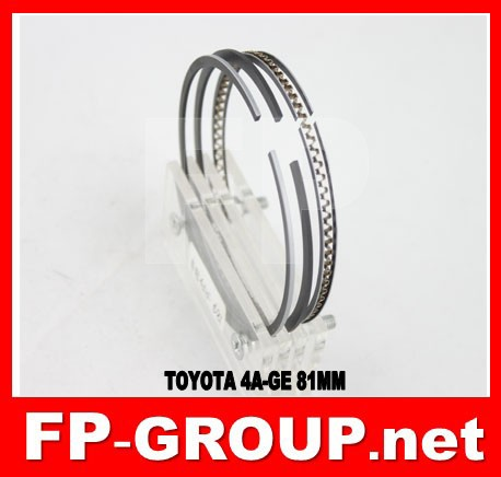 toyota engine 4A-GE piston ring