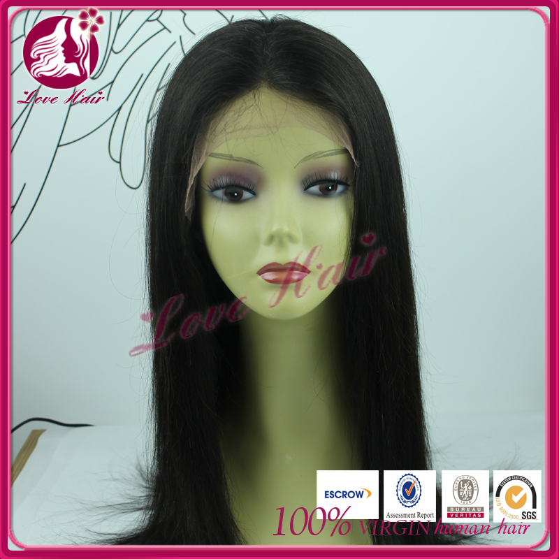 Hot selling 100% human hair full lace wigs natural hair wig for men short brazilian hair full lace wig