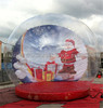 2015 top selling and popular chrismas inflatable snow ball C1008