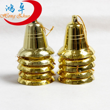 christmas decoration golden christmas bell for sale