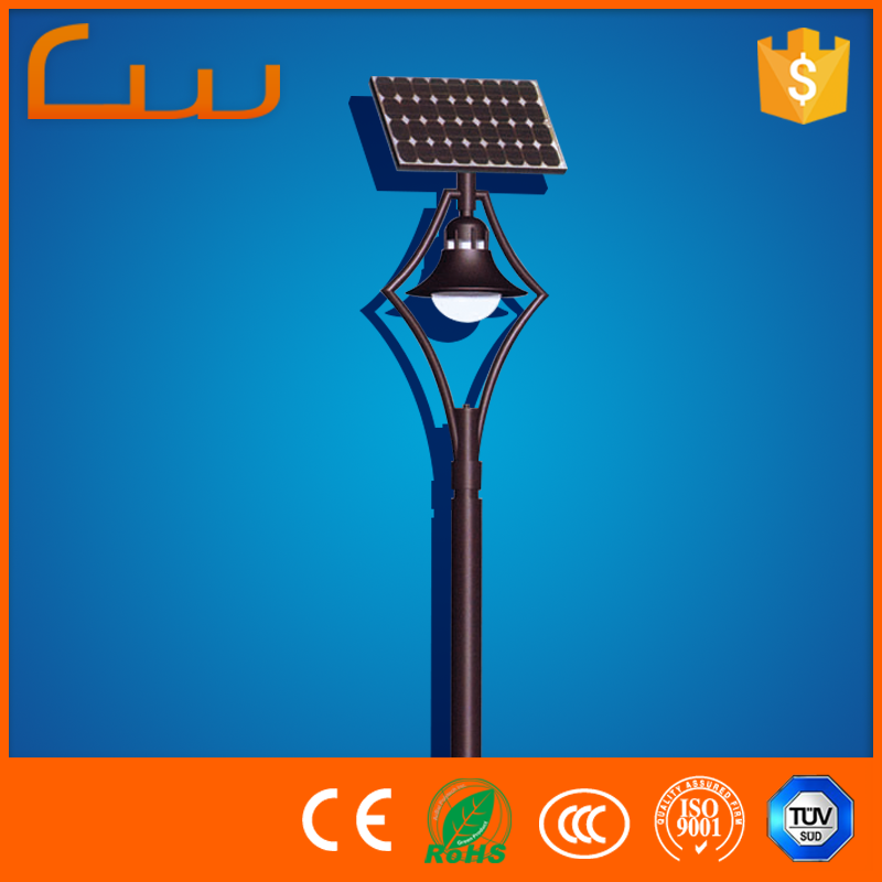 China sale high lumen solar garden lights for parking spot