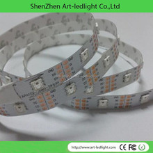5 Meter length apa102c RGB LED strip, individually apa102c addressable White LED Strips 32 Led,32 SMD5050 RGB LEDs addressable R