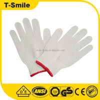 Work Gloves Cheap Cotton Knitting White Safety Work Glove Cheap White Cotton Hand Gloves