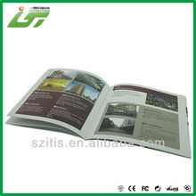 fashion product magazine high glossy paper with logo UV