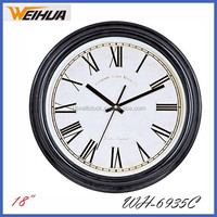 analog antique cheap 18 inch art and craft clocks