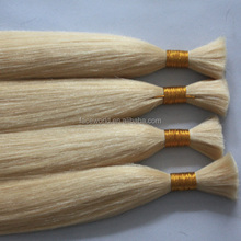 Alibaba best selling russina hair top quality blonde straight remy russian human hair bulk