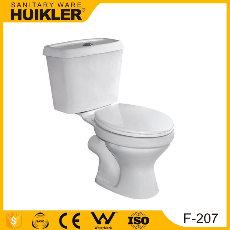 China manufacturer wc high efficiency toilet one pices toilet room design