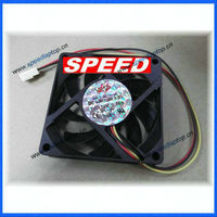 7cm silent CPU fan for AMD computer 3Pin oil seal