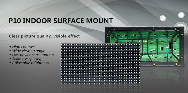 Best price Full Color LED Display P10 for Video Advertising/Outdoor P10 LED Billboard Panel