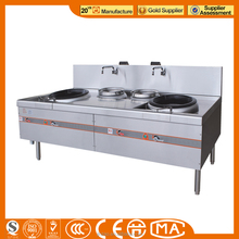 Commercial Gas Range With 2-Burner & Oven/ Gas Cooking Range for sale