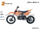 2016 America Cool Fashion design 125cc Gas Dirt bike