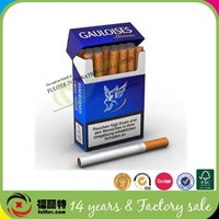 Fashion Design Cardboard Paper Disposable Cigarette Box