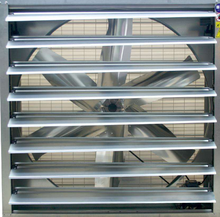 Optimal air duct design low price long life factory used industrial exhaust fan