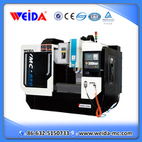 VMC850 linear guide FANUC 5 axis cnc machining center for sale