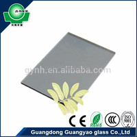 china supplier float glass with CE/SGCC certificate 5mm crystal grey glass