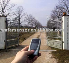 Solar power operated swing gate GSM controller
